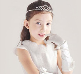First Communion Veils & Tiaras